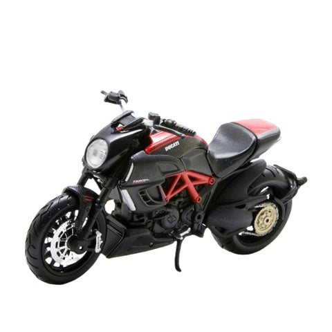 Miniature Moto (1:18)<br/> Ducati Diavel Carbon - crazy riders