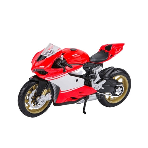 Moto Miniature (1/18)<br/> Ducati 1199 Superleggera - crazy riders