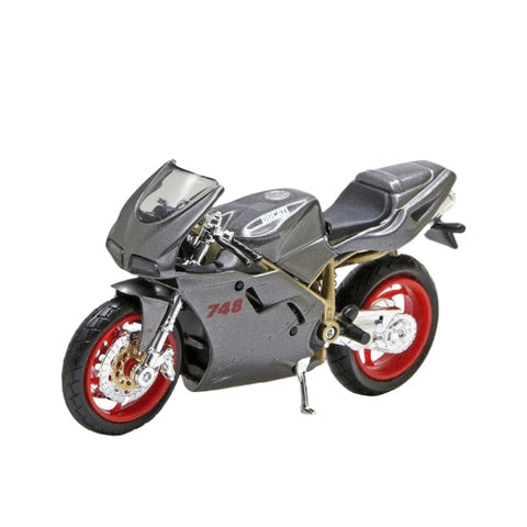 Moto Miniature (1/18)<br/> Ducati 748 - crazy riders
