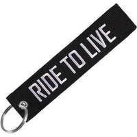 Porte Clé Moto<br/> Ride to Live - crazy riders