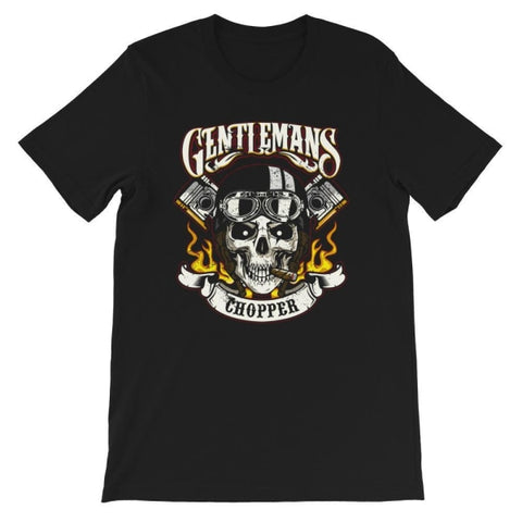 T-shirt Moto<br/> Gentleman - crazy riders
