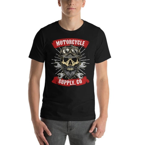 T-shirt Moto<br/> Motorcycle Supply - crazy riders