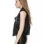 Gilet Biker en Cuir Sons of Anarchy (Femme)