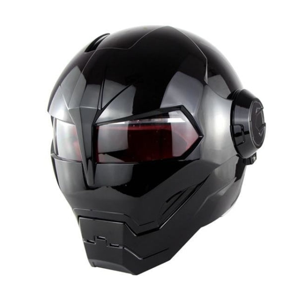 Casque Moto Iron Man Noir - crazy riders