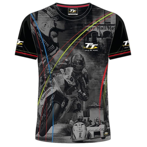 T-shirt Moto <br/> TT Île de Man - crazy riders