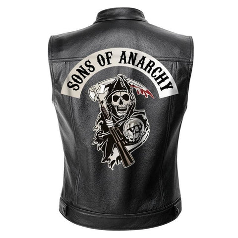 Gilet Cuir Biker Sons of Anarchy