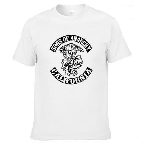 T-Shirt Moto<br/> Sons Of Anarchy - crazy riders