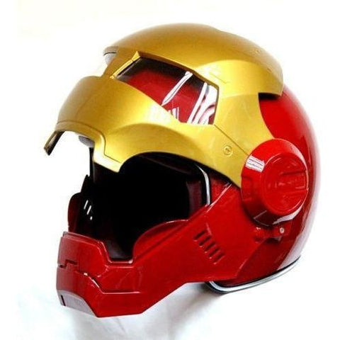 Casque Moto Iron Man - crazy riders