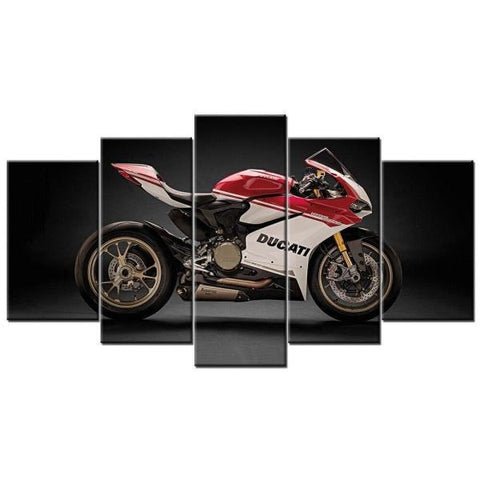 Tableau Moto Ducati Panigale 1299 | Crazy riders