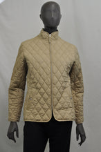 Load image into Gallery viewer, Lands End Khaki Quilted Jacket