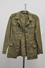 Load image into Gallery viewer, White House Black Market Olive Safari Jacket