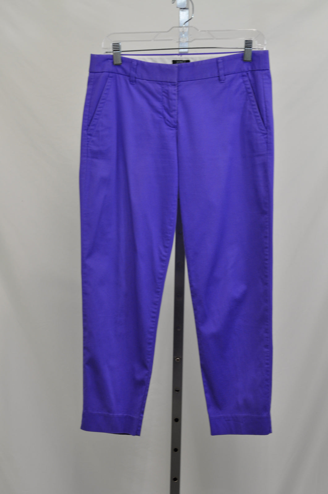 J Crew Lilac City Fit Ankle Pants