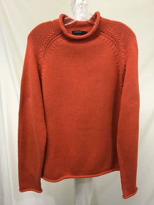 J. Crew Orange Sweater