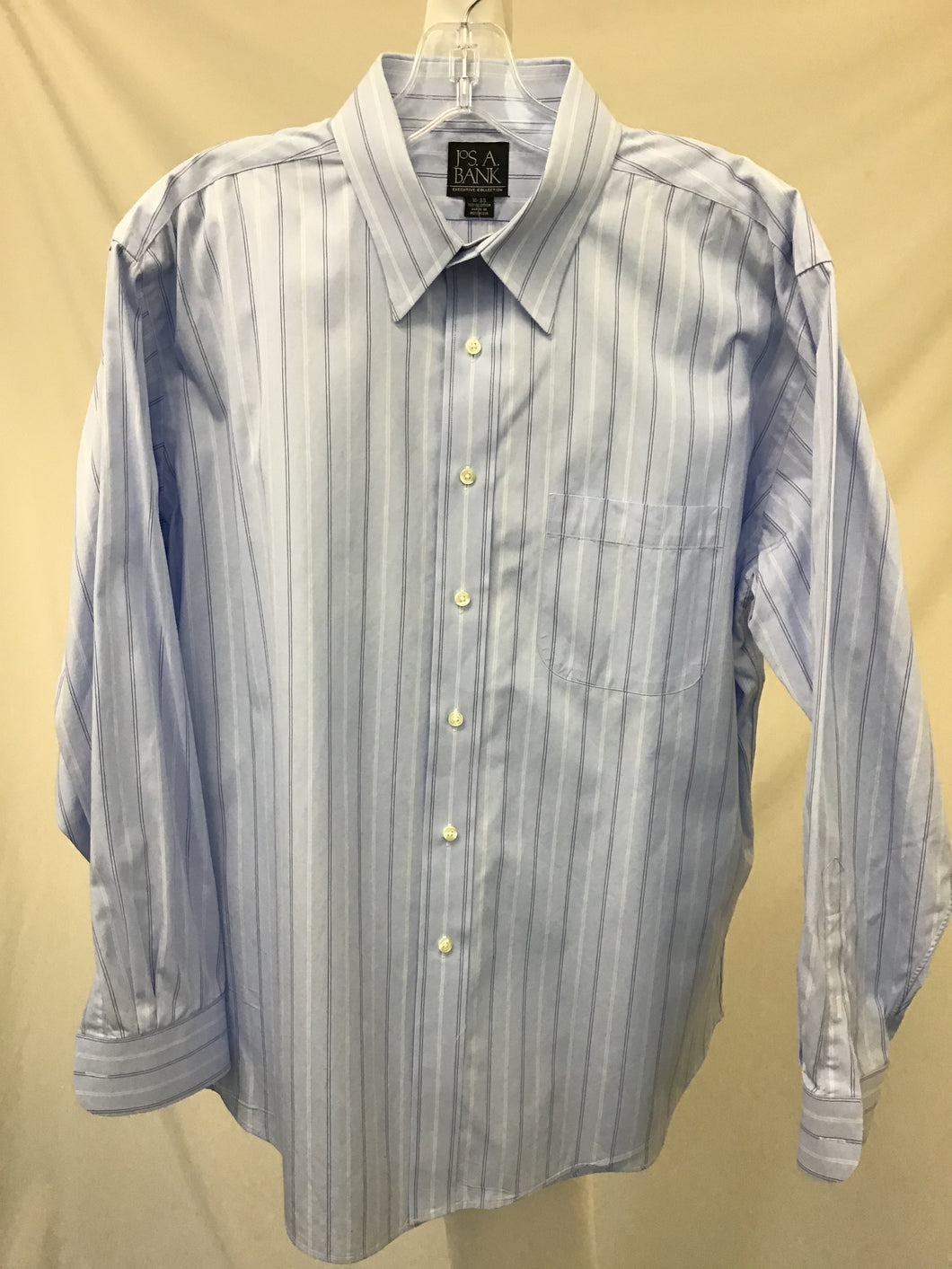 Jos A. Bank Striped Dress Shirt