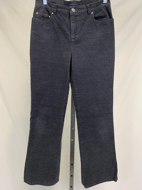 Jones New York Signature Grey Corduroy Pants