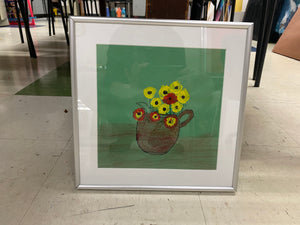 Sunflowers- Framed