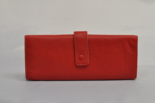 Lavenger Red Leather Wallet