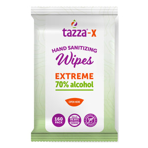 Tazza Alcohol Wipes 160 ct
