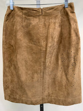 Load image into Gallery viewer, Back of Leather Skirt