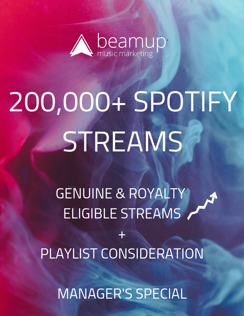 Curated Stream Management – BeamUp Music Marketing