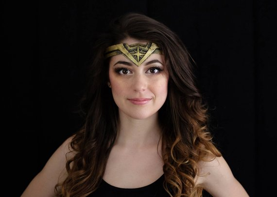 Wonder Woman Tiara/Headband Digital Template