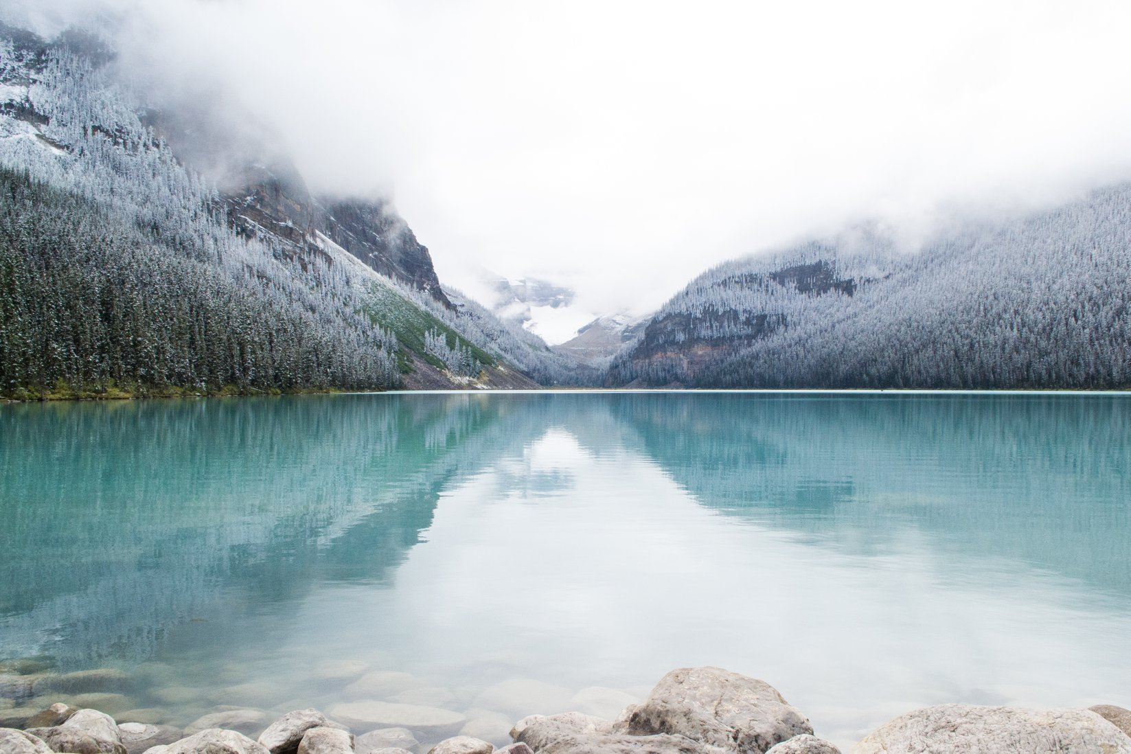 Lake Louise winters day, AB Canada
