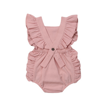 Load image into Gallery viewer, Ruffle Edge Baby Romper