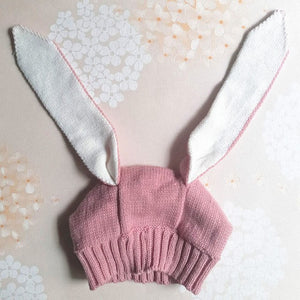 Bunny Ears Knitted Hat