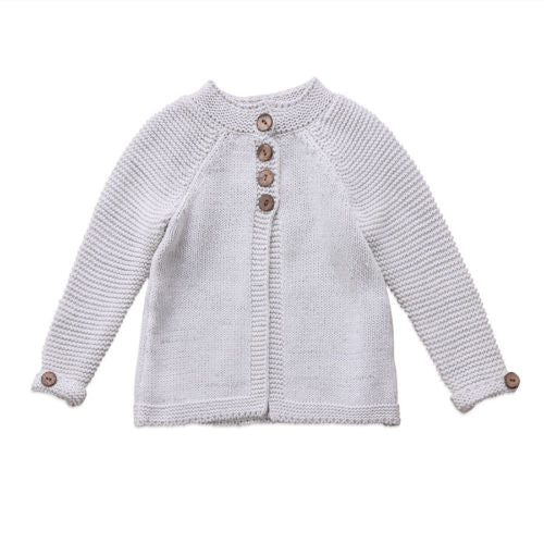 Cozy Style Knit Button Sweater