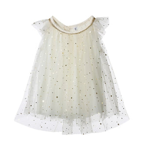 Flower Girl Princess Sequined Party Dress
