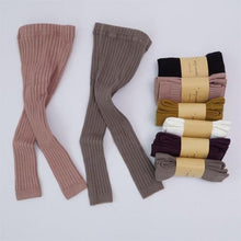 Load image into Gallery viewer, Toddler Kids Autumn Ribbed Leggings