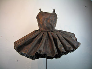 Odette Copper Dress