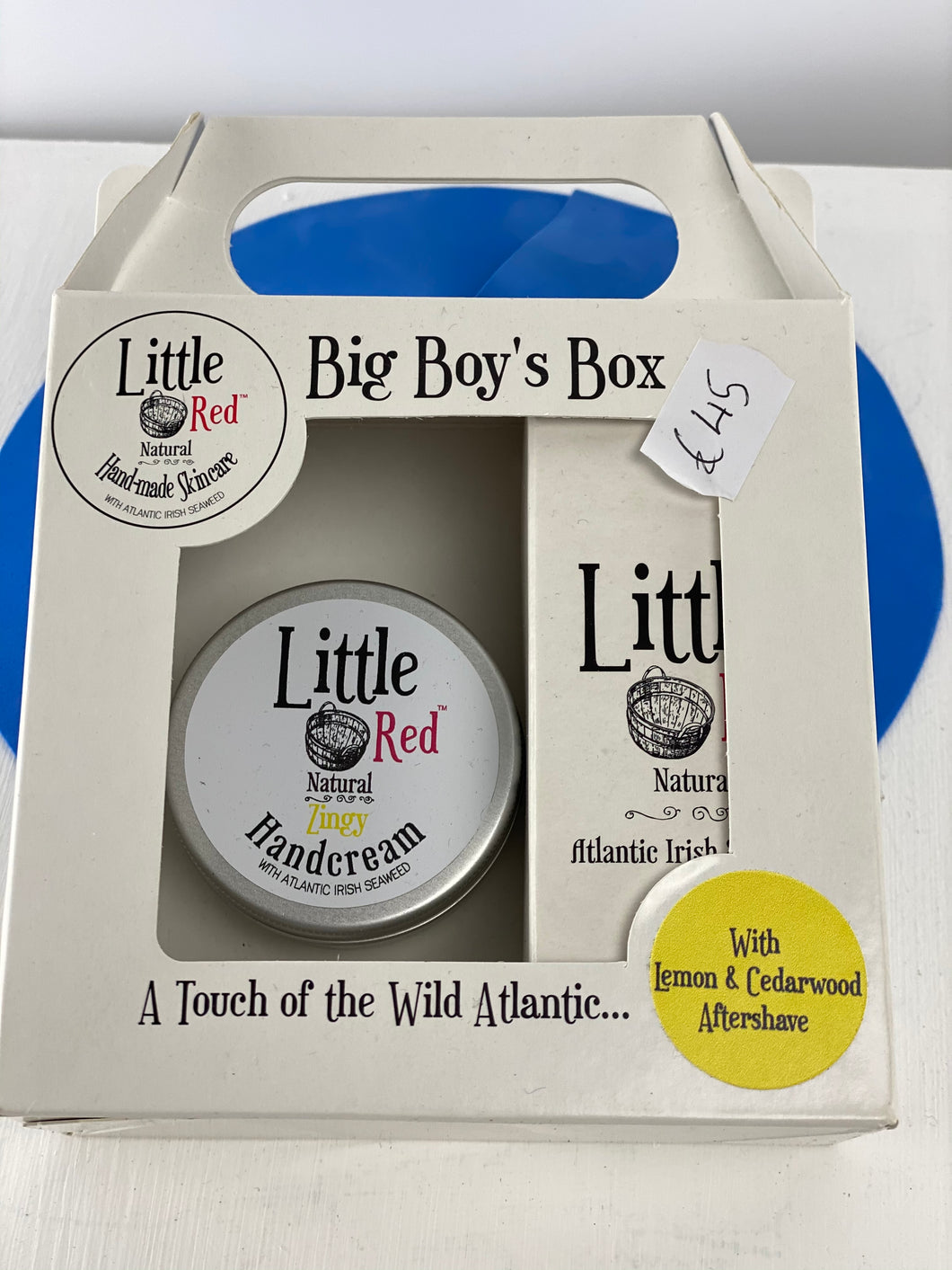 Little Red, Big Boy Box Gift