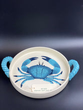 Load image into Gallery viewer, Crab Dish with Handles