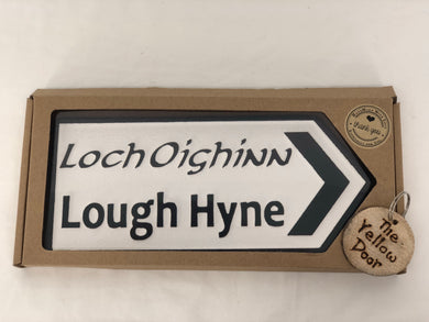 Lough Hyne Sign