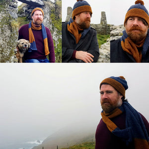 Men's Hat & Scarf Set