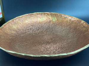 Copper Iron and Mixed Metal Bowl