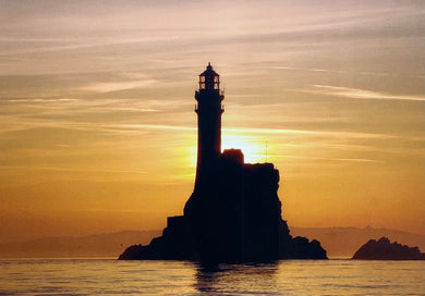 The Fastnet at Dawn