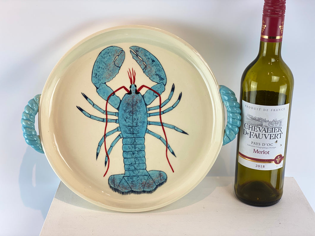 Lobster Handled Platter