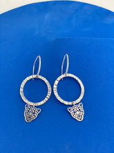 Load image into Gallery viewer, Leopard Silver Earrings