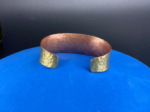 25mm Heavy Bracelet Copper Iron and Mixed Metal