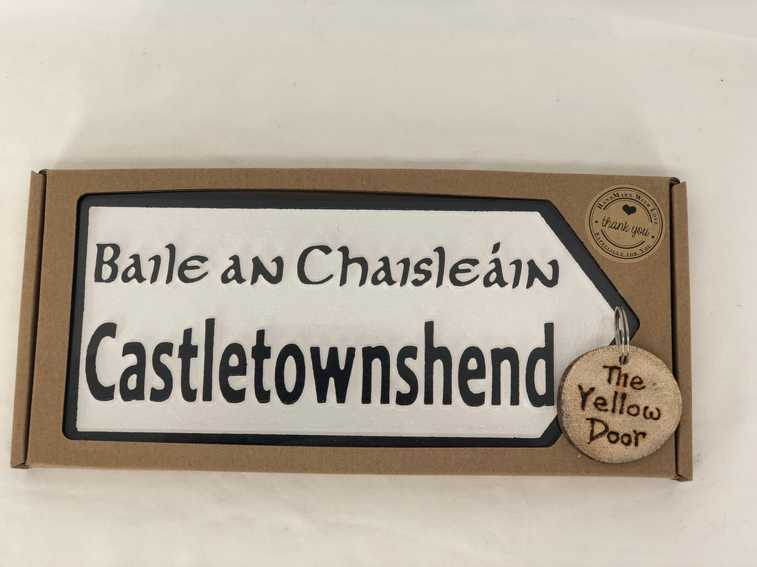 Castletownshend Sign