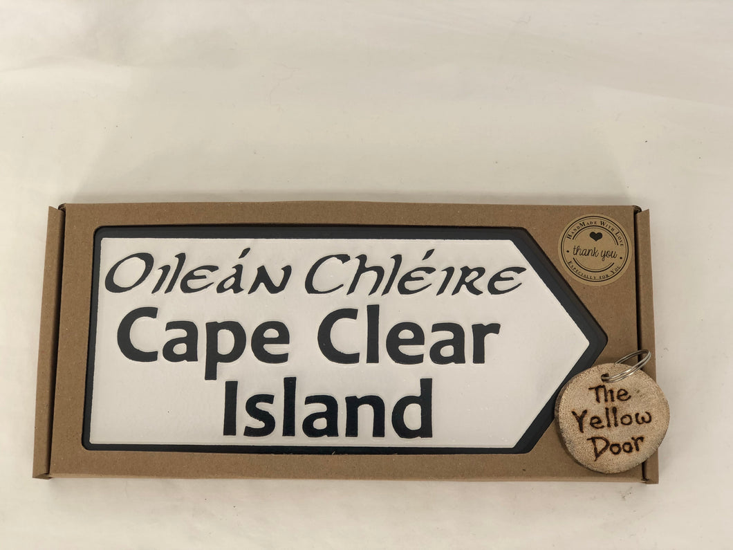 Cape Clear Sign