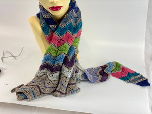 Merino Wool Shaped Scarf