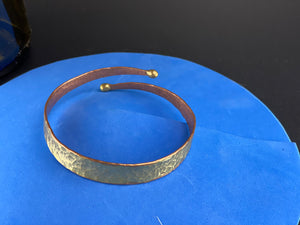 Split Bracelet Copper Iron and Mixed Metal