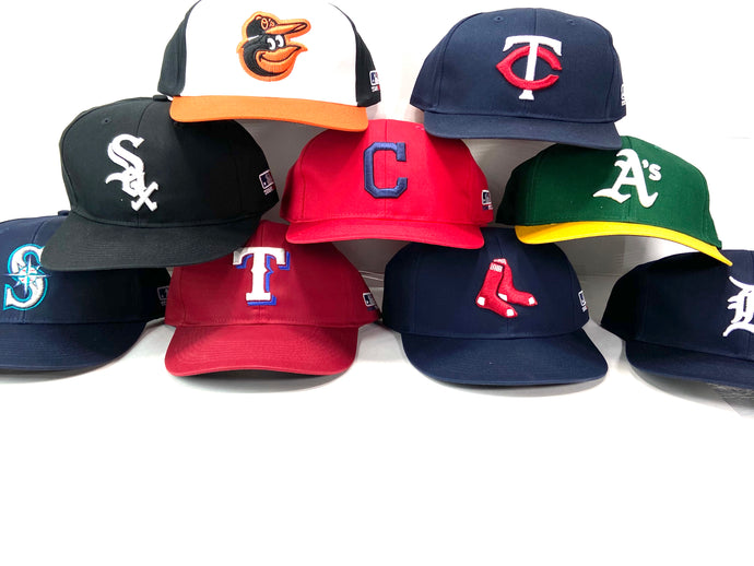MLB American League Replica M-300 Caps (New) by Outdoor Cap