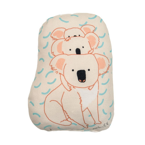 Mini Cushion - Koala Family
