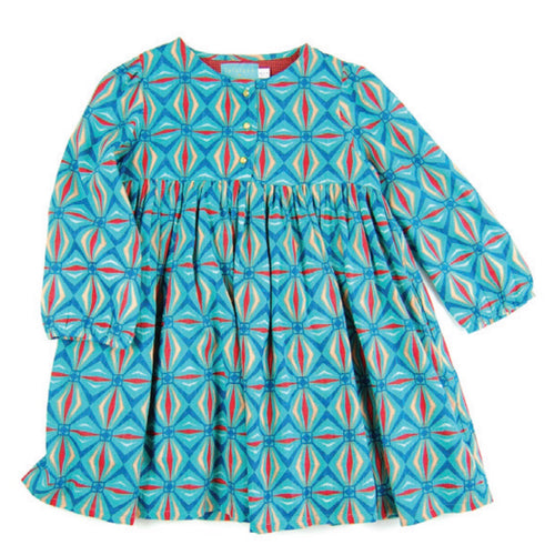 Dress Kayla Mirror Turquoise