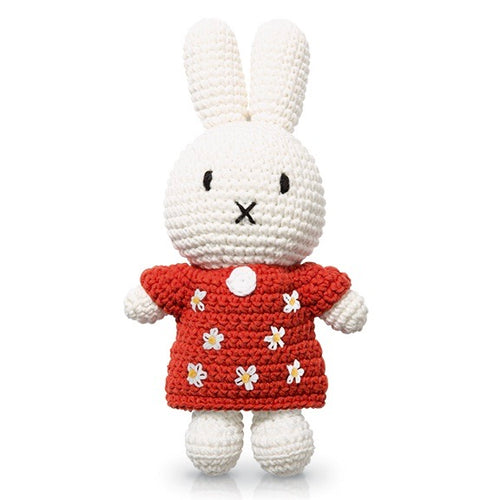 Miffy Handmade and her Red Sunflower Dress