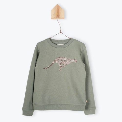 Sheetah Sweatshirt Olive